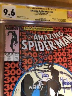 Amazing Spider-Man #300 Signed by Todd McFarlane CGC SS 9.6 1st Venom