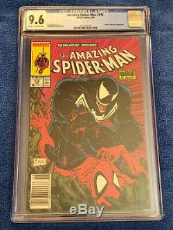 Amazing Spider-Man # 316 (6/89) CGC Graded Comic Book 9.6 NM+ OWithW Newsstand Ed