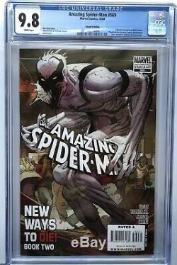 Amazing Spider-Man 569 CGC 9.8 2nd second print variant Anti-Venom Marvel