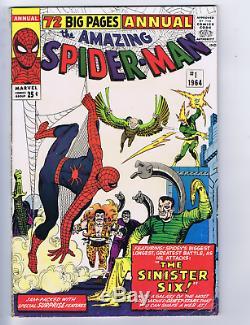 Amazing Spider-Man Annual #1 Marvel 1964