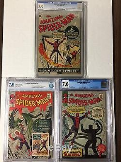 Amazing Spider-man 1 2 3 4 5 6 7 8 9 10 11 12 13 14 15 16 17 18 19 Cgc 7.0+