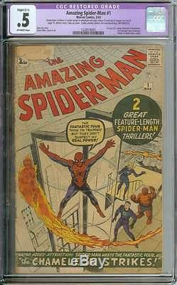 Amazing Spider-man #1 Cgc 0.5 Ow Pages