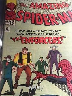 Amazing Spider man #10 CGC 7.5 signed by Stan Lee