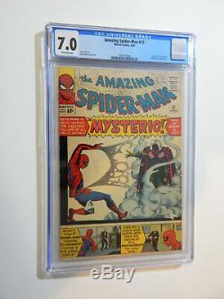 Amazing Spider-man #13 1st Mysterio Quentin Beck Cgc Fine Very Fine 7.0 Movie