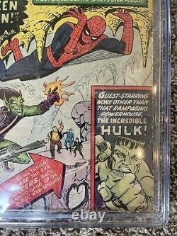Amazing Spider-man #14 Cgc 1.8 1st Green Goblin Silver Age Comic Book Cbcs Pgx