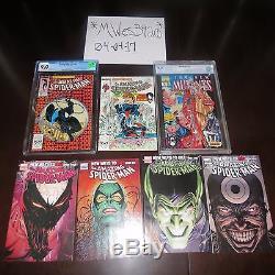Amazing Spider-man 300 Cgc 9.0 1st Venom, New Mutants 98 Cbcs 9.8 1st Deadpool