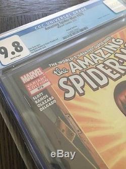 Amazing Spider-man #678 Cgc 9.8 White Mary Jane Venomized Variant Cover