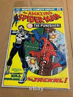 Amazing Spiderman #129 74' 1st Punisher VF(+/-) HighGrade Unrestored Not Pressed