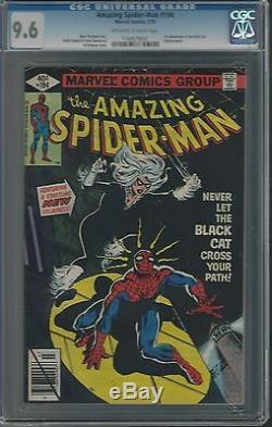 Amazing Spiderman #194 Cgc 9.6 Nm+ 1st Black Cat