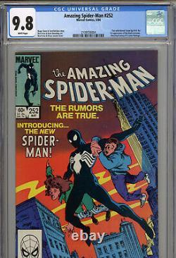 Amazing Spiderman #252 (Marvel Comics, May 1984) CGC 9.8 (W) Vintage Comic Book