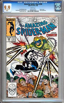 Amazing Spiderman 298 299 & 300 CGC 9.9 only set to exist Venom movie Tom Hardy