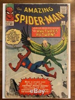 Amazing Spiderman 7 Silver Age Key Comic Book
