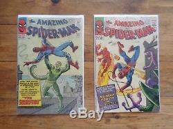 Amazing Spiderman Silver Age Lot (2-74) CGC Graded