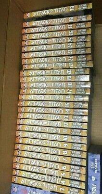 Attack on Titan Vol. 1-30 (Manga) (Books) New
