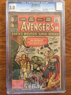 Avengers 1 CGC 3.0