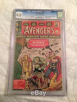 Avengers #1 CGC 4.0
