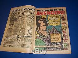 Avengers #1 Silver Age Huge Key 1st Issue Nice Looking book Wow