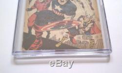 Avengers #4 Comic Cgc 3.0 1964 1st Captain America Steve Rogers