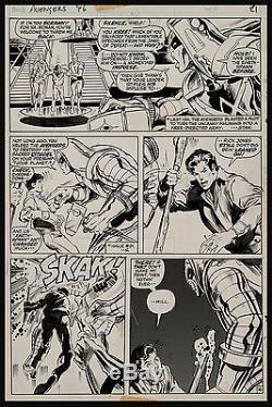 Avengers #96 Art by Neal Adams Ronan