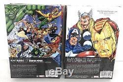 Avengers Busiek & Perez Volume 1 & 2 Omnibus Set Marvel HC New Sealed $250 Value
