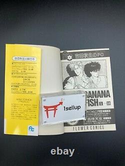 BANANA FISH Akimi Yoshida VOL 1-19 Manga Comic Complete Set Anime Japanese