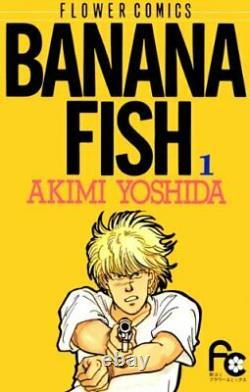BANANA FISH Complete 1 19 Whole volume set Japanese manga comic Akimi Yoshida