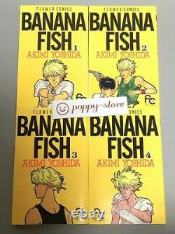 BANANA FISH vol. 1-19 Japanese Language comics complete full set manga book