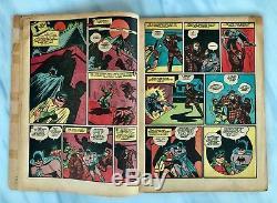 BATMAN #4 1940 1941 Joker story 1st GOTHAM CITY Bob Kane Bill Finger Golden Age