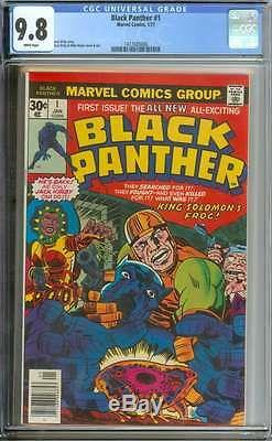 Black Panther #1 Cgc 9.8 White Pages