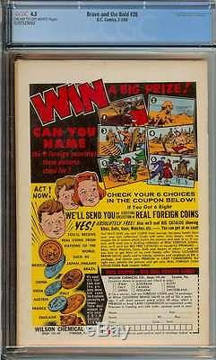Brave And The Bold #28 Cgc 4.5 Cr/ow Pages