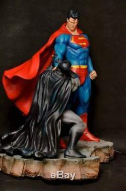 Bat Man VS Super Man Ex Statue Sculpture Art / Nt XM Sideshow Prime 1 DC Comics