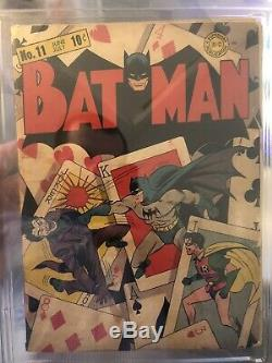Batman #11 2.0 CGC DC 1942 Joker Penguin