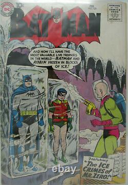 Batman #121 1959 DC CGC 3.5 VG- Origin and 1st appearance of Mr. Zero