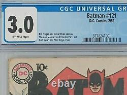 Batman 121! First appearance of Mr. Zero, later Mr. Freeze. CGC certified 3.0