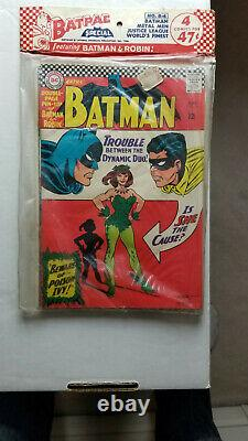 Batman #181 VF+ Sealed Batpac B-6 1966