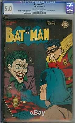 Batman #23 Cgc 5.0 Cr/ow Pages