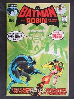 Batman #232 -HIGH GRADE- DC 1971 1st App of Ra's Al Ghul Neal Adams art