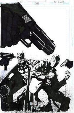 Batman #647 Original Cover Art OA by Jock 2006 DC Comics Under the Red Hood
