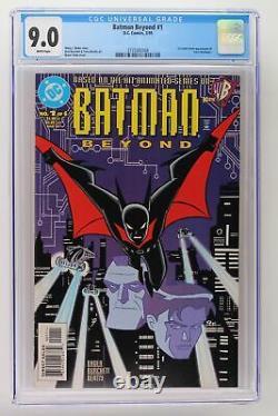 Batman Beyond #1 DC 1999 CGC 9.0 1st comic book Appearance of Terry McGinnis