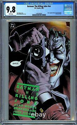 Batman The Killing Joke CGC 9.8 (1988, DC) First Print. Alan Moore & Bolland