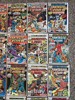 Big Bronze Age Comic Book Lot Fantastic Four #150-#199 Avengers Hulk Surfer Doom