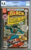 Black Lightning #1 Cgc 9.8 White Pages
