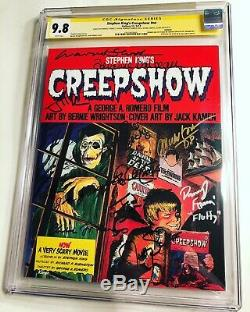 CGC 9.8 SS Stephen King's Creepshow Variant signed by Ted Danson + 11 cast/crew