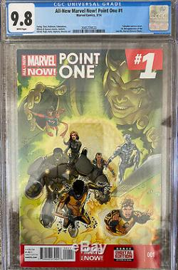 CGC ALL NEW MARVEL NOW! POINT ONE # 1 1st KAMALA KHAN MS MARVEL! BOOK IS ON