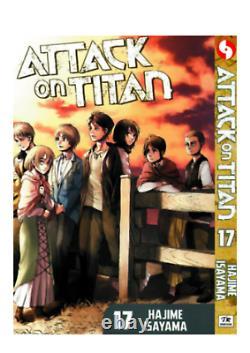 COMIC Attack On Titan Hajime Isayama Manga Vol 1-32 FULL SET (ENGLISH)-FREE SHIP