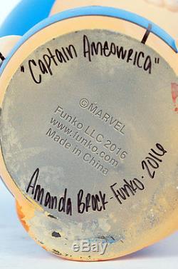 Captain Ameowica 18 Funko Dorbz by Amanda Brock