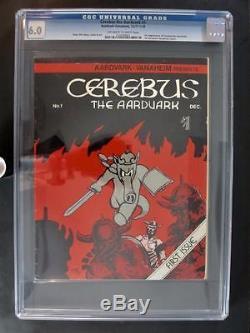Cerebus the Aardvark #1 CGC 6.0 FN 1977-78 1st App of Cerebus the Aardvark