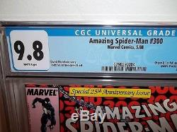 Cgc 9.8 (nm/mt) Amazing Spider-man #300 1st Venom Appearance Mcfarlane White Pgs