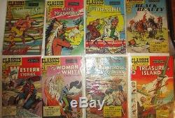 Classics Illustrated classic complete comic collection 1-169 (-43) 70 1sts MORE