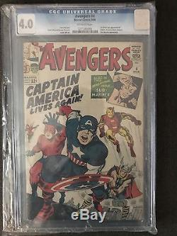 Comic Book Cgc Collection